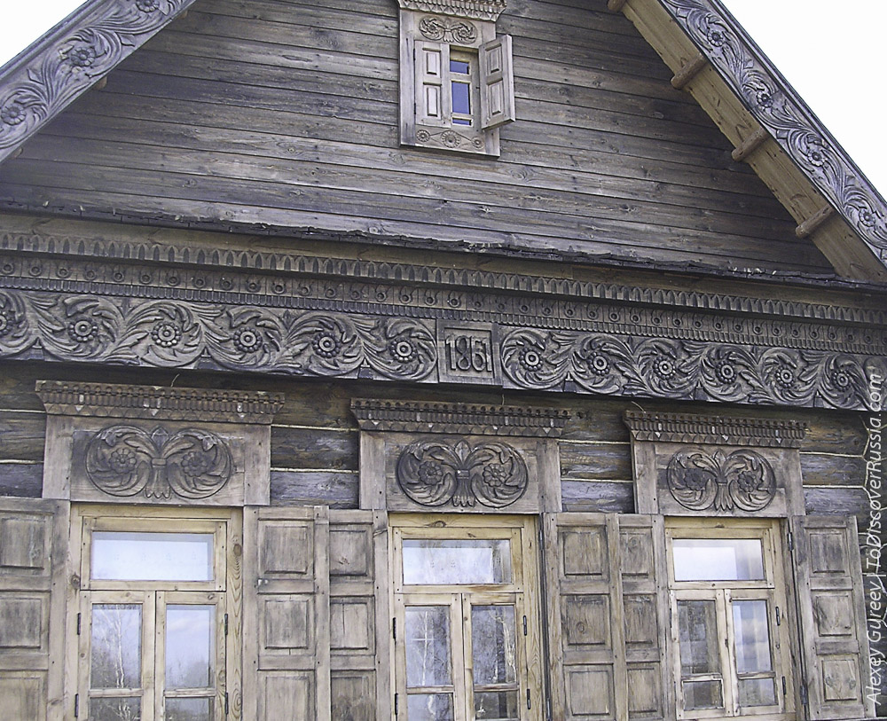 Suzdal Russian Wooden Hut