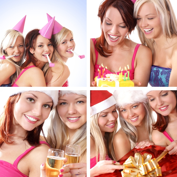 3 good different ideas of new year celebration