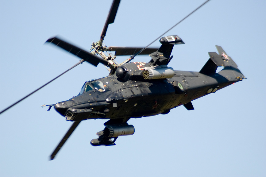 Incredible Helicopter KA-50 ?Black Shark? To Discover Russia