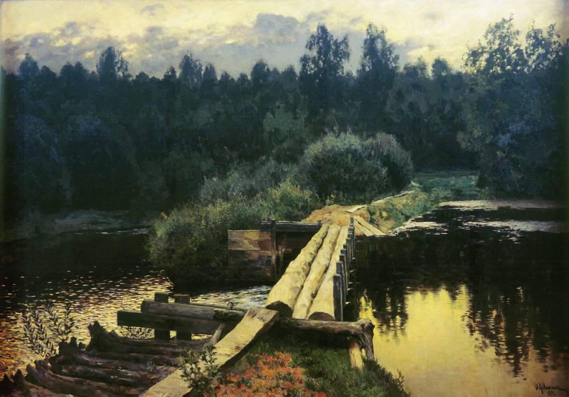 Isaak Levitan - By whirlpool