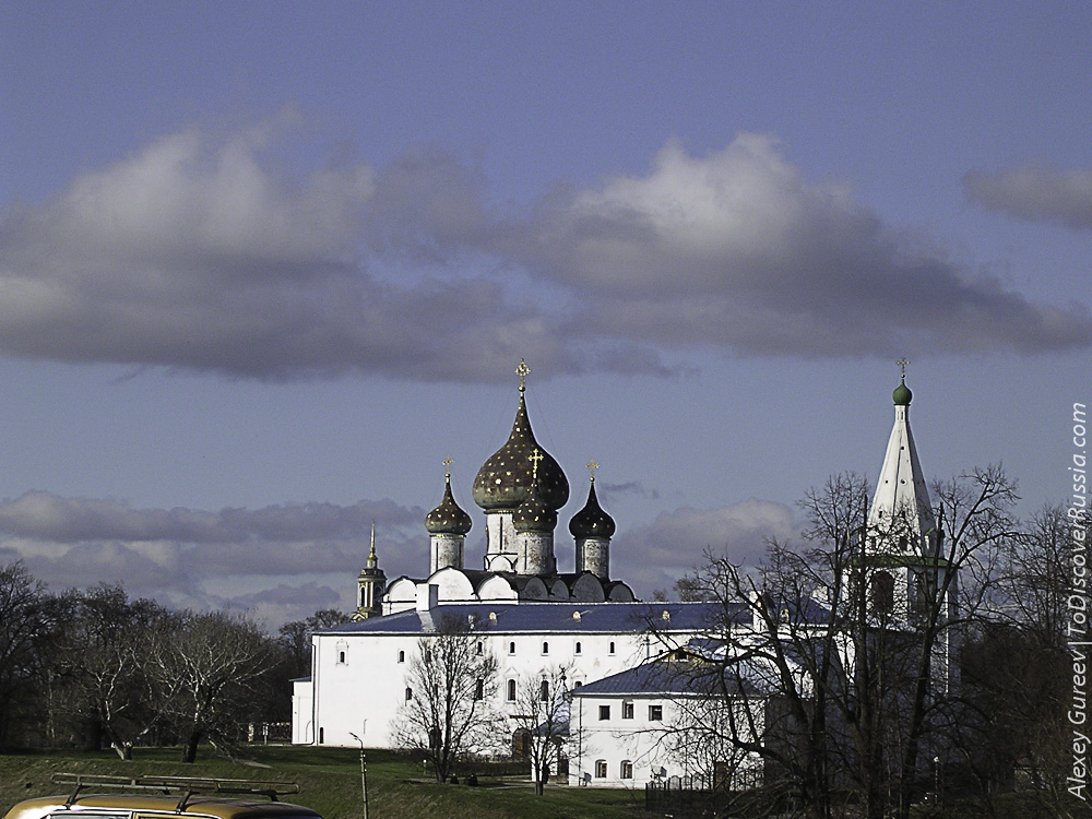 The Suzdal Kremlin. The Cathedral of the Nativity