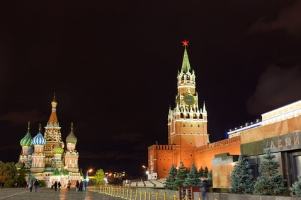The Red Square in the Evening Light