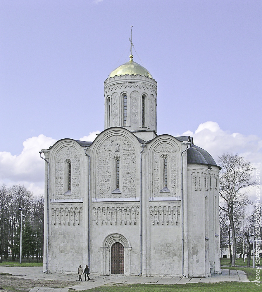 The Cathedral of Saint Demetrius (Vladimir Russia)