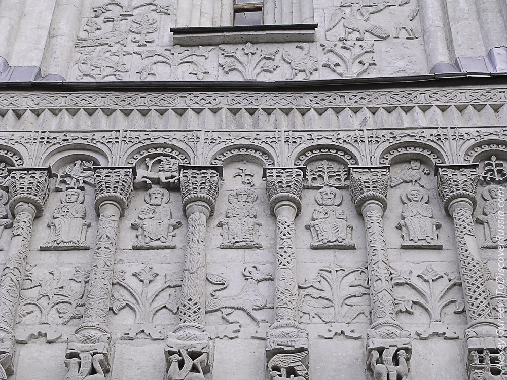 The Arcature-Columnar Cathedral of St. Demetrius (Vladimir Russia)