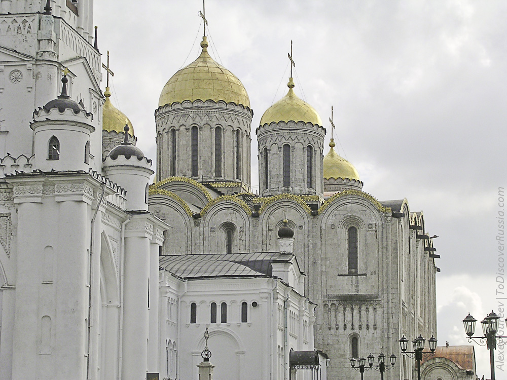 Assumption Cathedral in Vladimir (Russia)