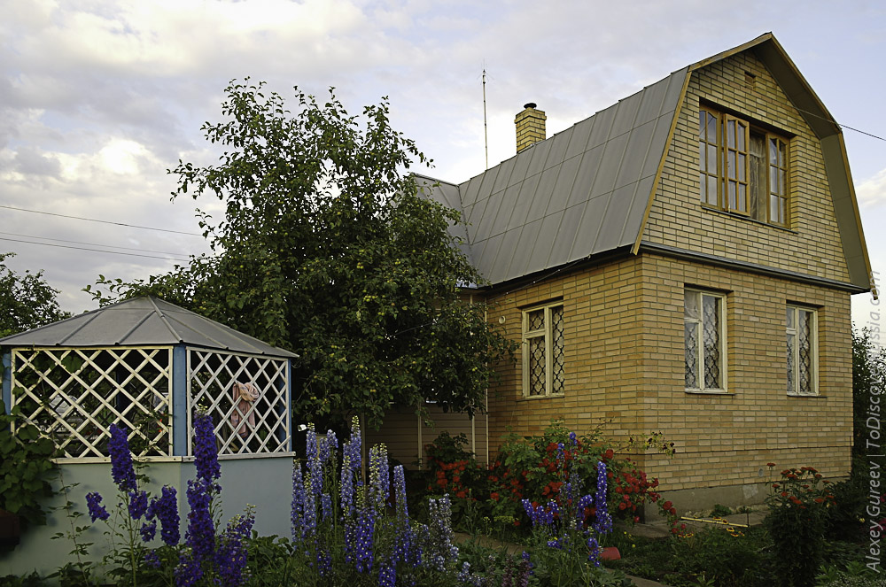 Russian Country House Dacha_