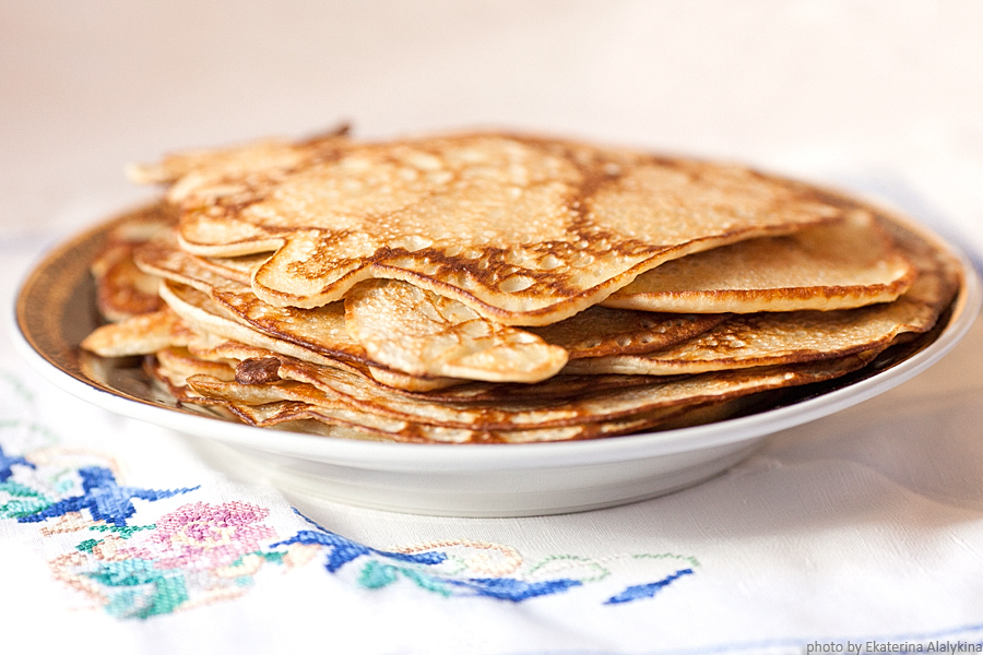 Russian Pancakes-Blini