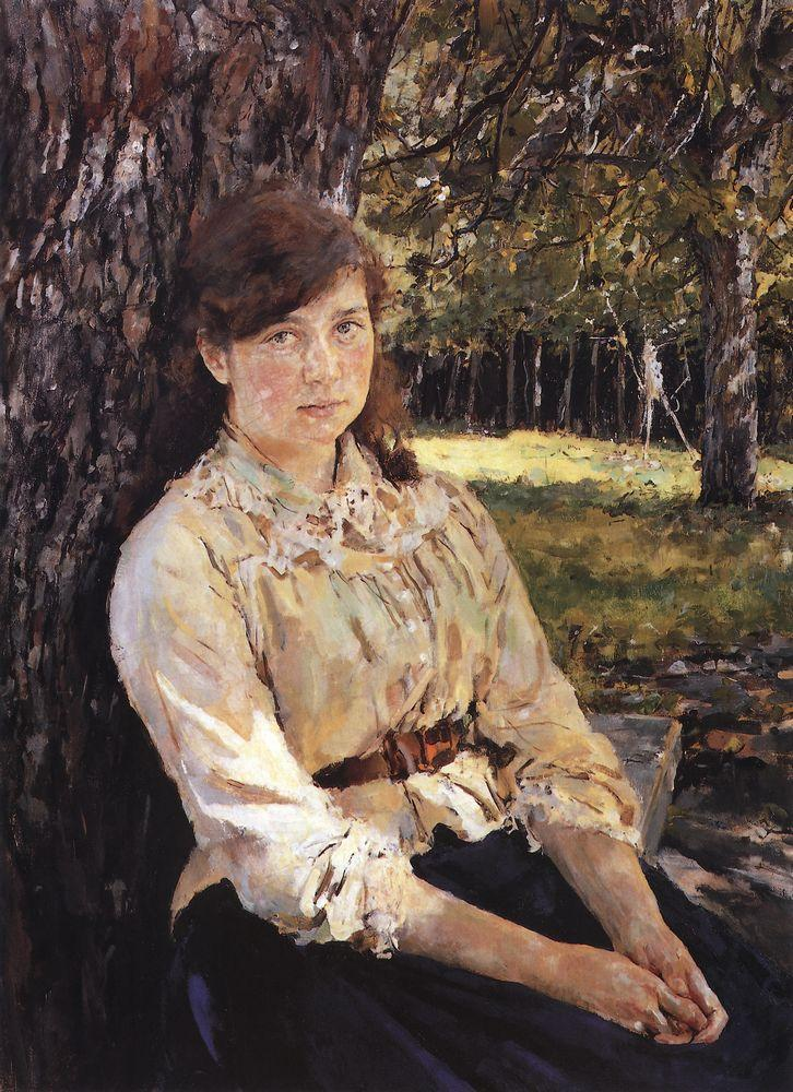 Valentin Serov Girl in the Sunlight