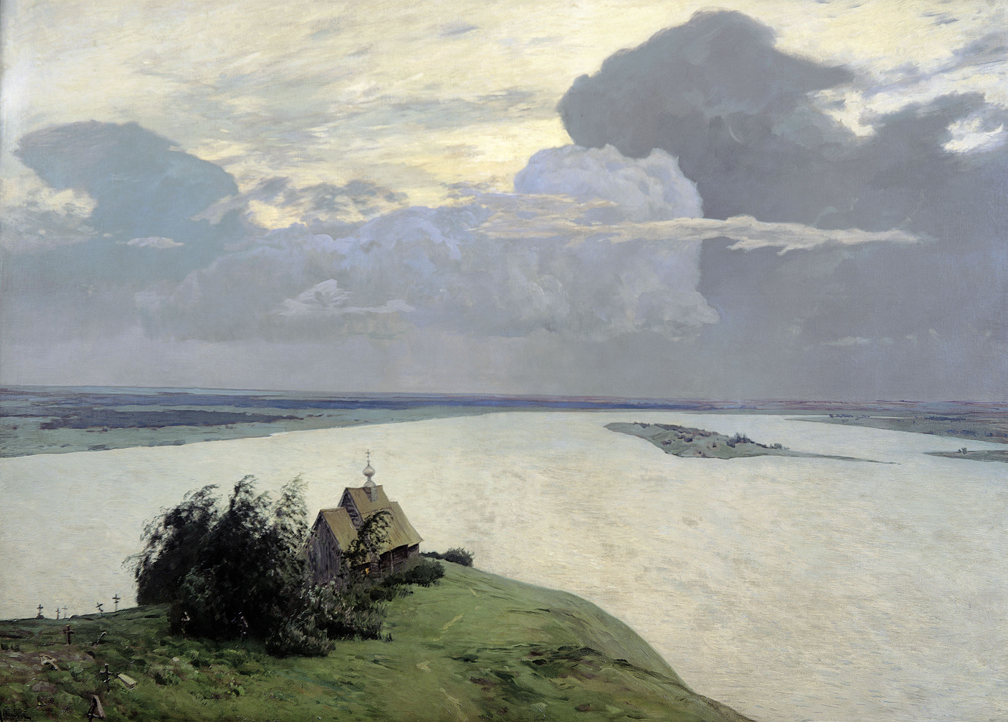 Isaak Levitan - Above the eternal peace