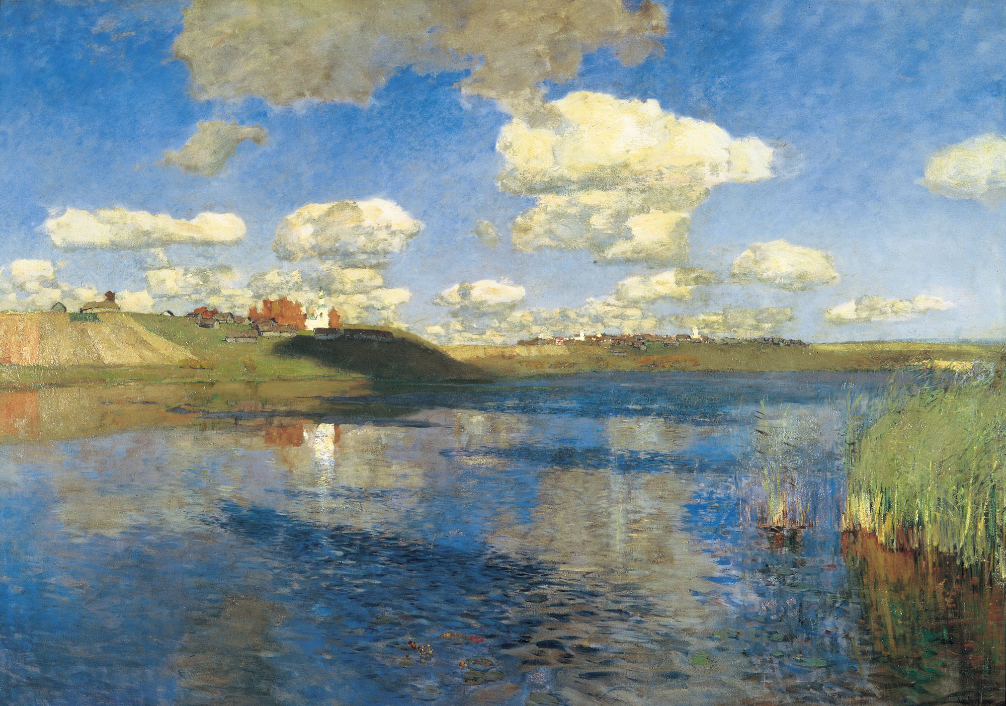Isaak Levitan - Lake. Russia