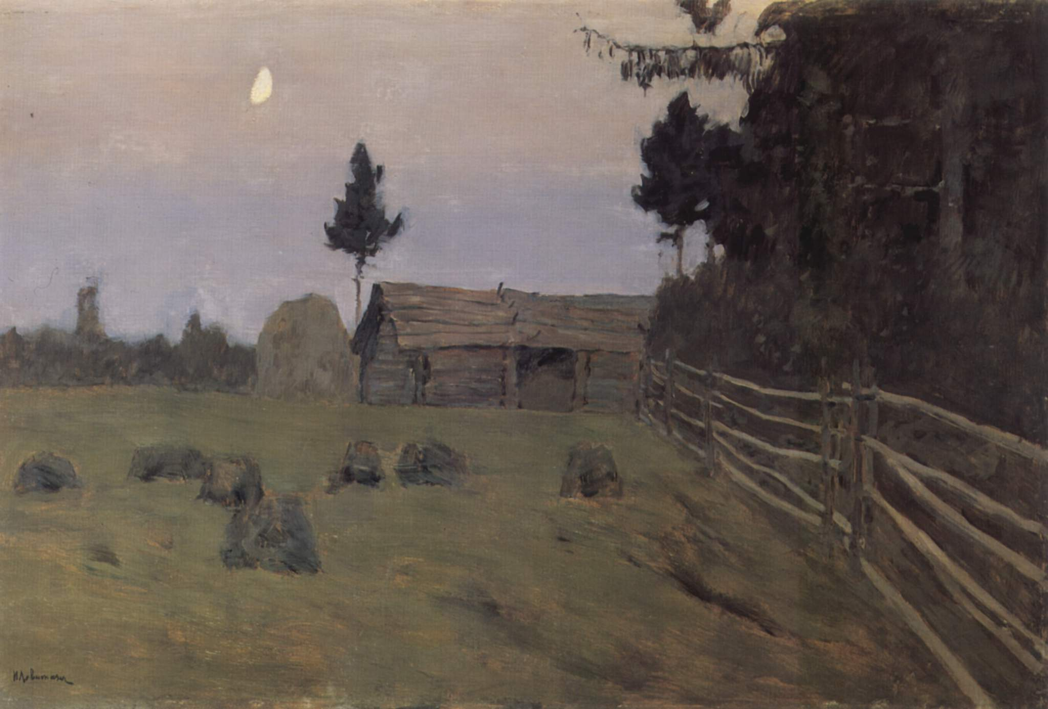 Isaak Levitan - Twilight
