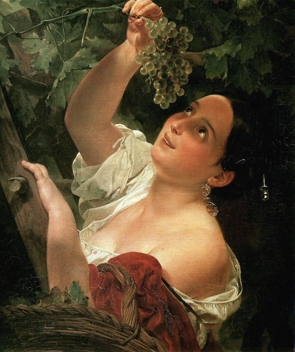 Karl Bryullov - IItalian Midday, oil on canvas (1827)