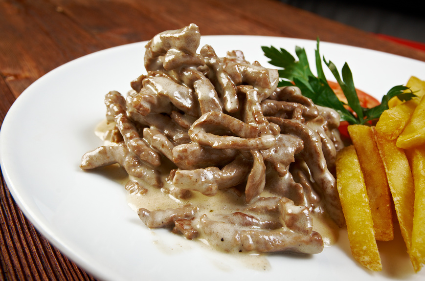 Real Russian Beef Stroganoff Homemade Recipe