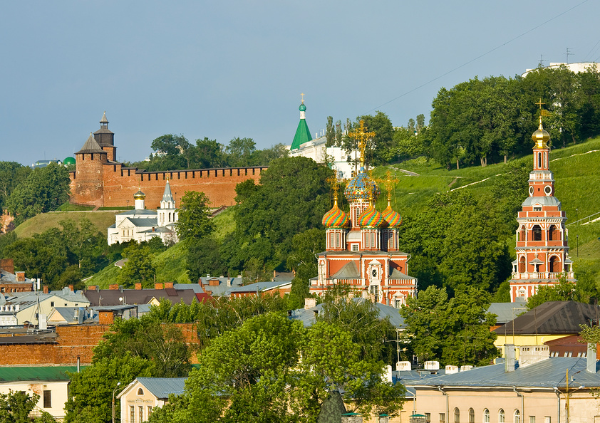 Nizhny Novgorod Kremlin. Church of the Nativity. Russia