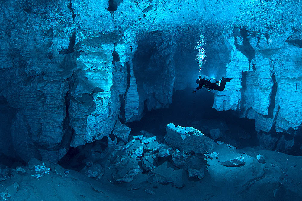 The Largest Gypsum Underwater Cave In The World Orda
