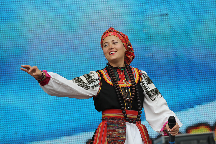 Russian Christmas Songs Photo Lead singer of Ivan Kupala