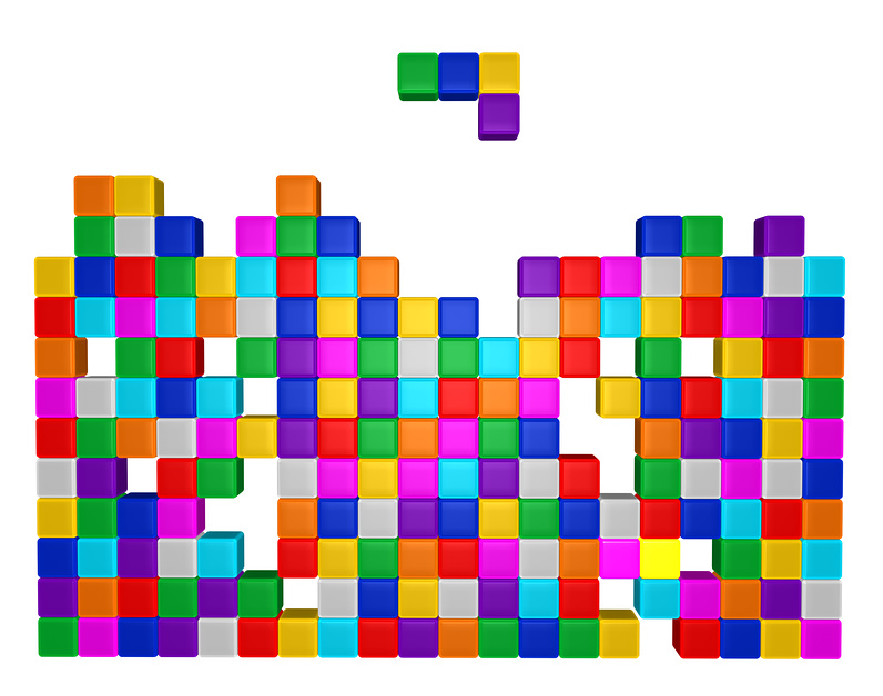 The game of Tetris