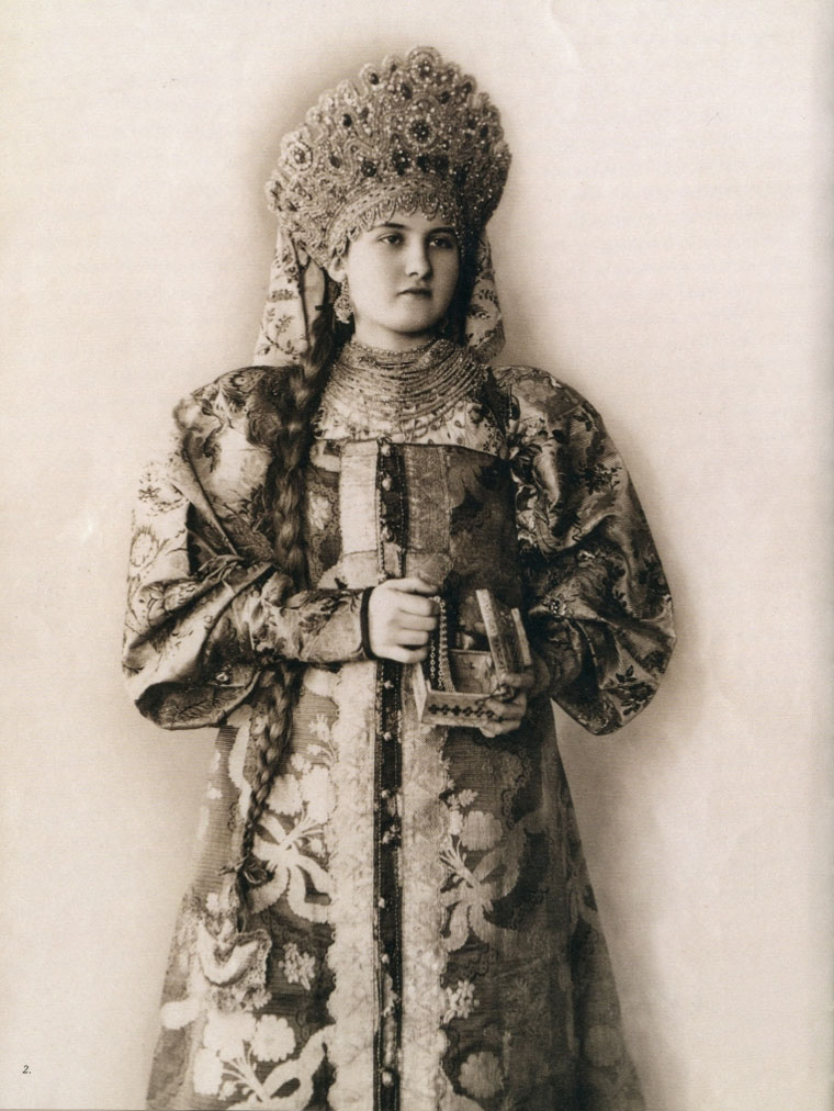 Festive women's clothing (the beginning of the 20th century) Northern Russia