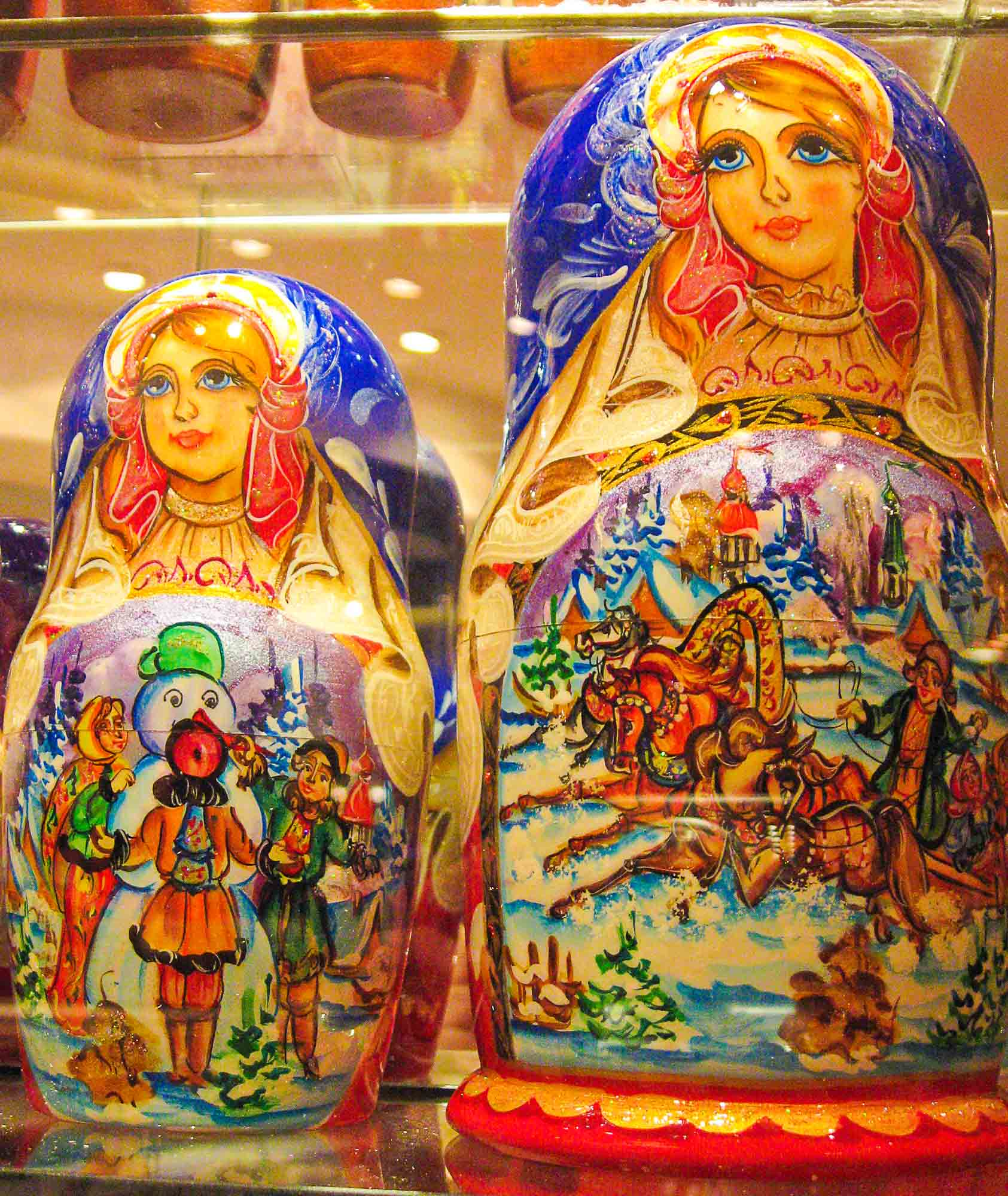 Matreshka Russian wooden nesting doll