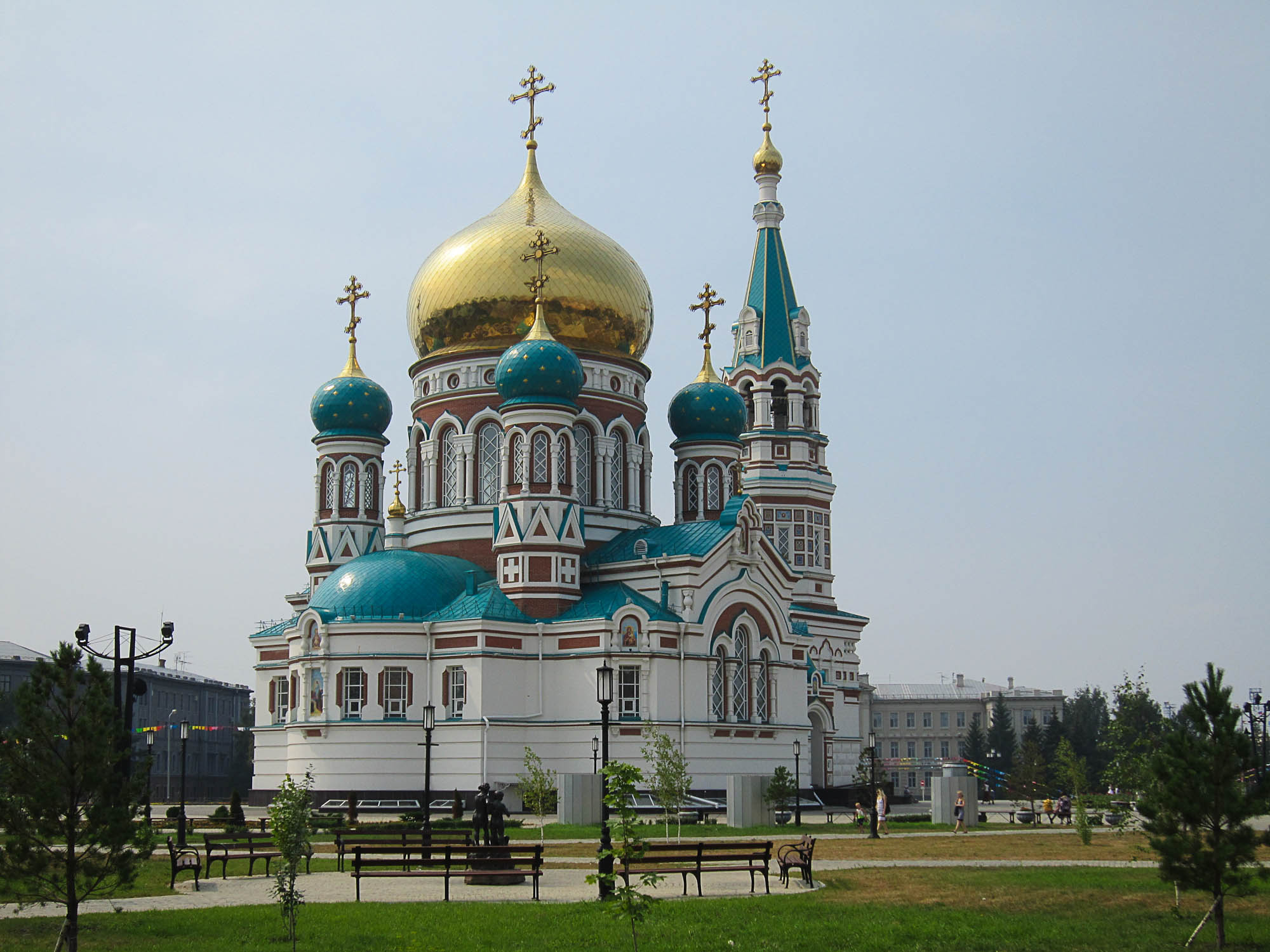 The Saint Dormition Cathedral Omsk