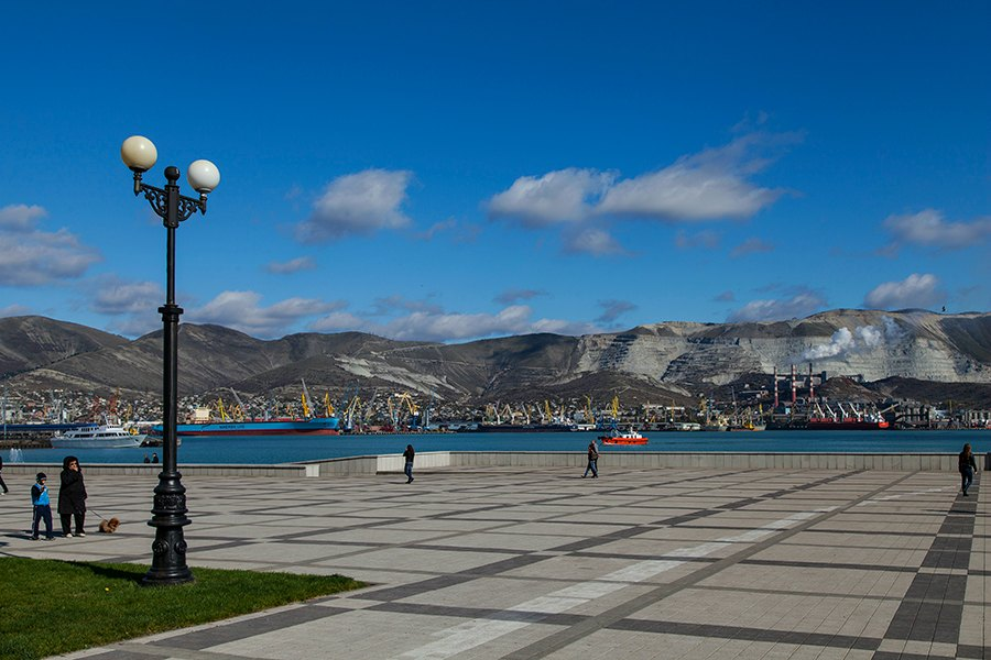 The Embankment in Novorossiysk