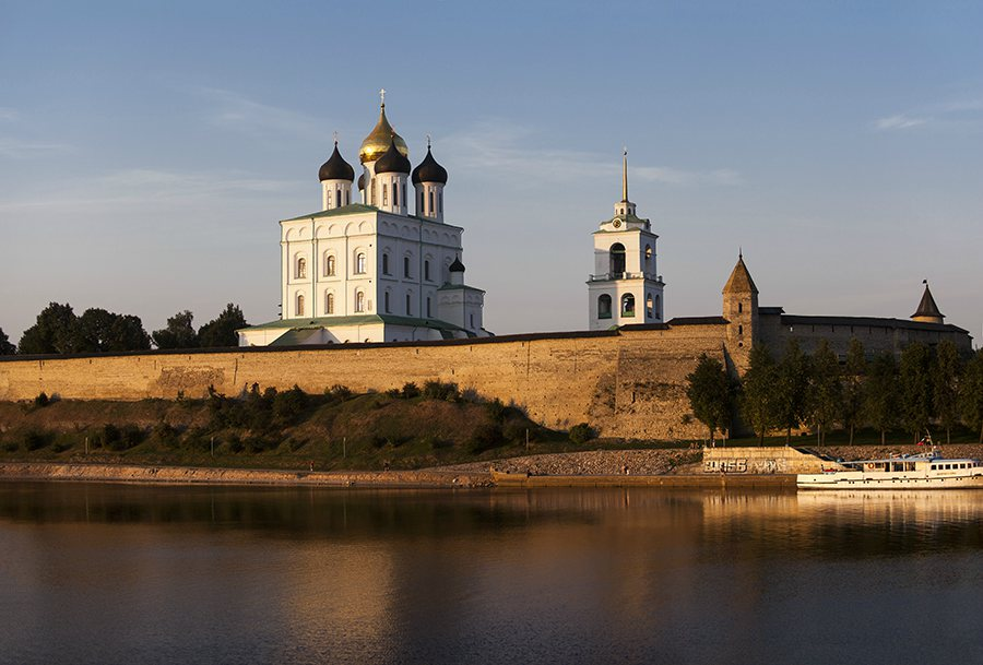 The Pskov Kremlin and the Trinity Cathedral