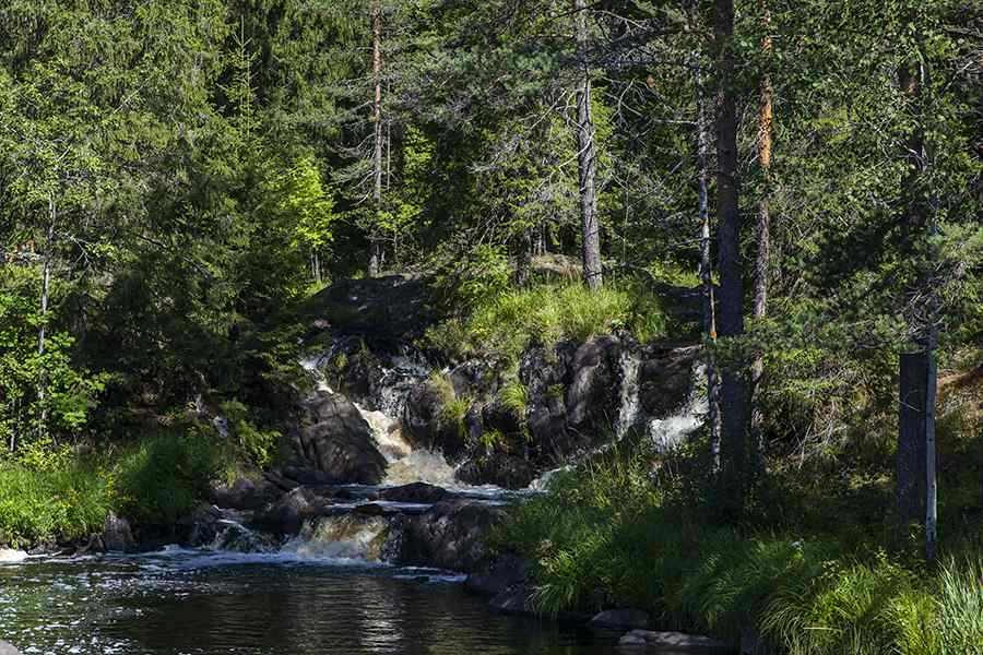 14 Ruskeala Waterfalls